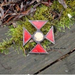 Мальтийский Крест Красный