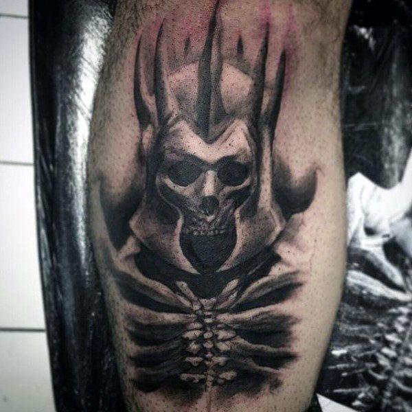 Image result for male skeleton key tattoo