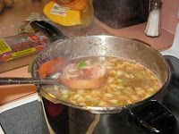 Cuban Home Cooking...Keeping the Tradition Alive: Los Frijoles Colorados de Mery (Red Bean Soup)