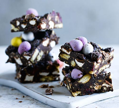 Easter egg rocky road