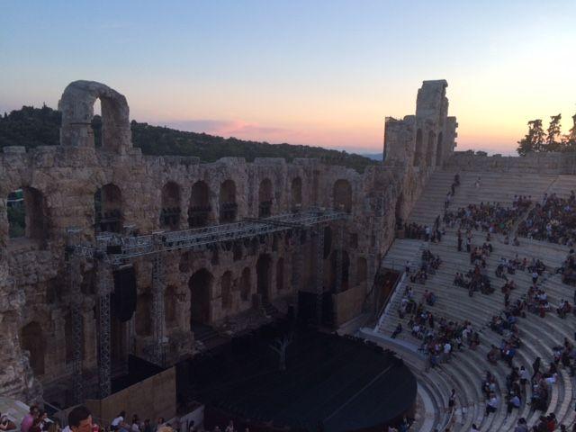 Herodus Odeon, Roman Theatre