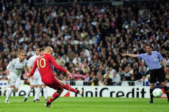 Arjen Robben - Real Madrid CF vs Bayern Muenchen - UEFA Champions League Semi Final