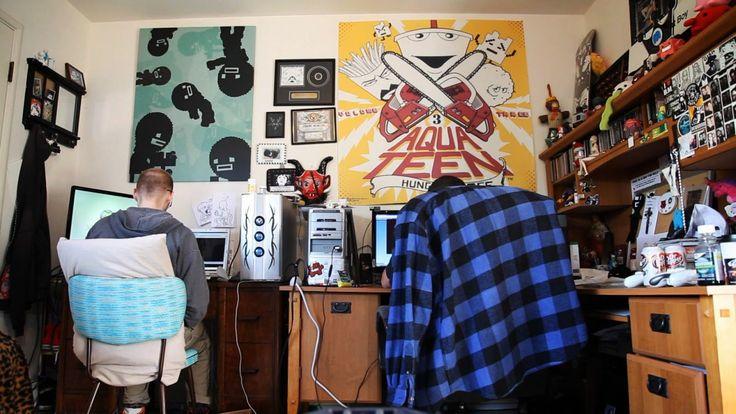Os criadores do famosíssimo indie game Super Meat Boy, Edmund McMillen eTommy Refenes trabalhando.    Para os mais experientes no mundo do...