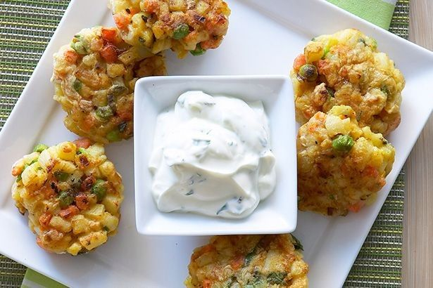 These vegetable curried patties are a great lunchtime treat or dinner time affair.