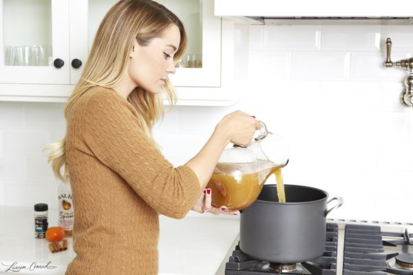 How to Make Lauren Conrad's Spiced & Spiked Cider