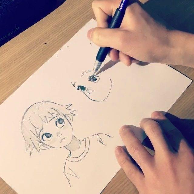 Part.1 #art #artwork #artworks #draw #drawing #drawings #illust #illustration #sketch #pencil #instagood #love #photooftheday #girl #boy
