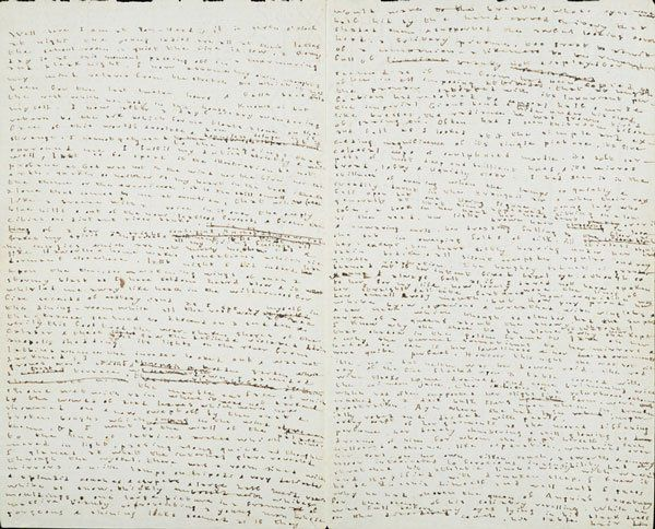 Diary entry by Charlotte Brontë, 1836. [via]