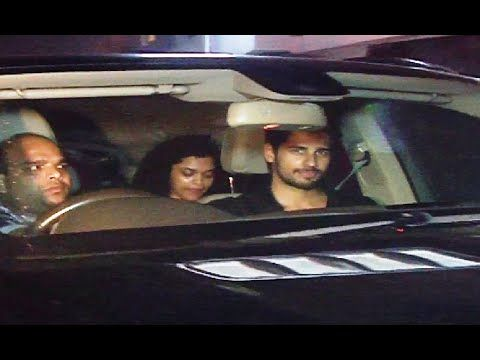 Sidharth Malhotra at Salman Khan's Galaxy Apartment for EID celebration 2016.