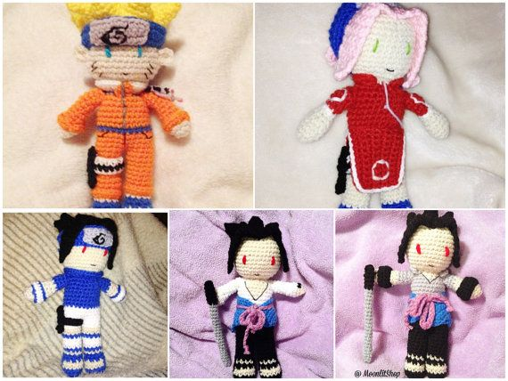 Free Naruto Amigurumi Pattern : 19 best naruto crochet images on pinterest crochet patterns