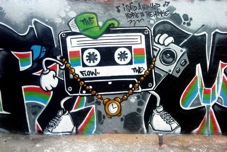 Love this hip-hop cassette character by Flow TWE from Paris. go to http://globalstreetart.com/flow-twe to checkout tons more flicks!