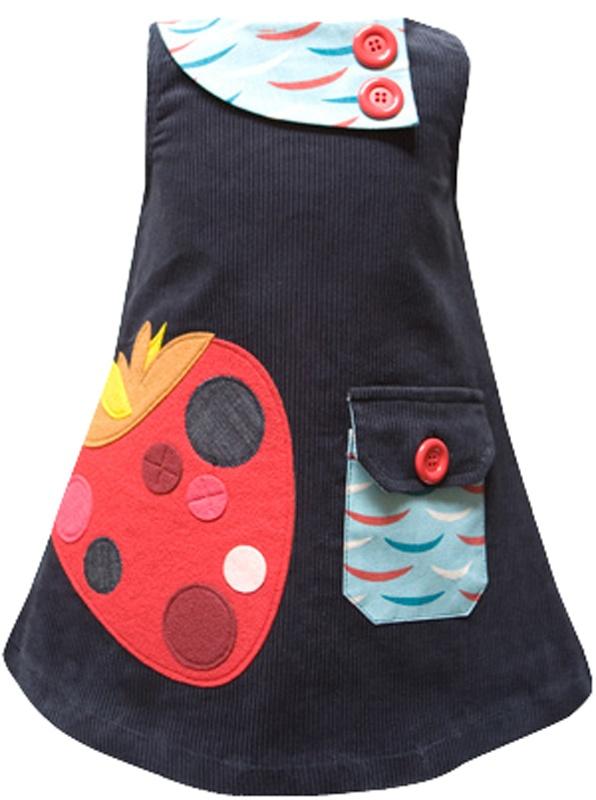 Strawberry dress for Aerie. Kitsel.com /Decaf Plush.