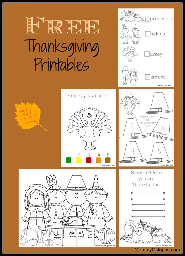 buy nobis Free Thanksgiving Printables for Kids
