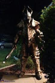 Dragonbone armor --skyrim