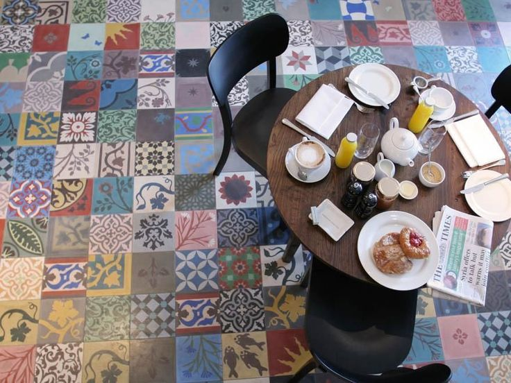 imports from marrakesh: {marrakesh tile ~ patchwork style}