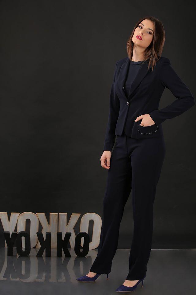 ♡♪ Reducerile de IARNA continua la YOKKO, online & in magazine!  Pantaloni comozi, pentru toate siluetele, acum la preturi extrem de prietenoase. #wintersales #trousers #onlineshopping #women #style #business #workwear