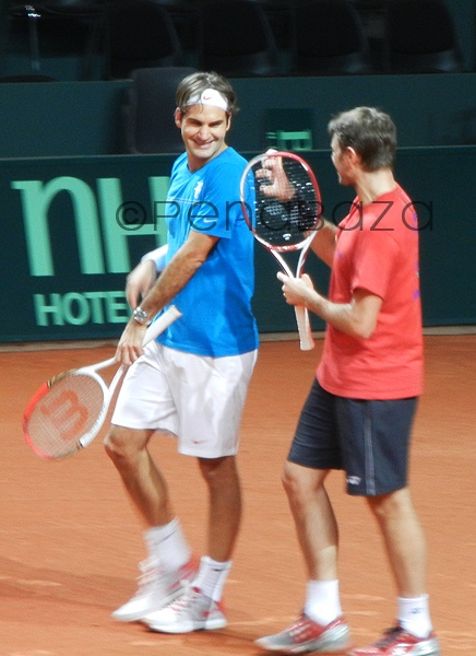Roger Federer & Stan Wawrinka, Tennis, my picture,