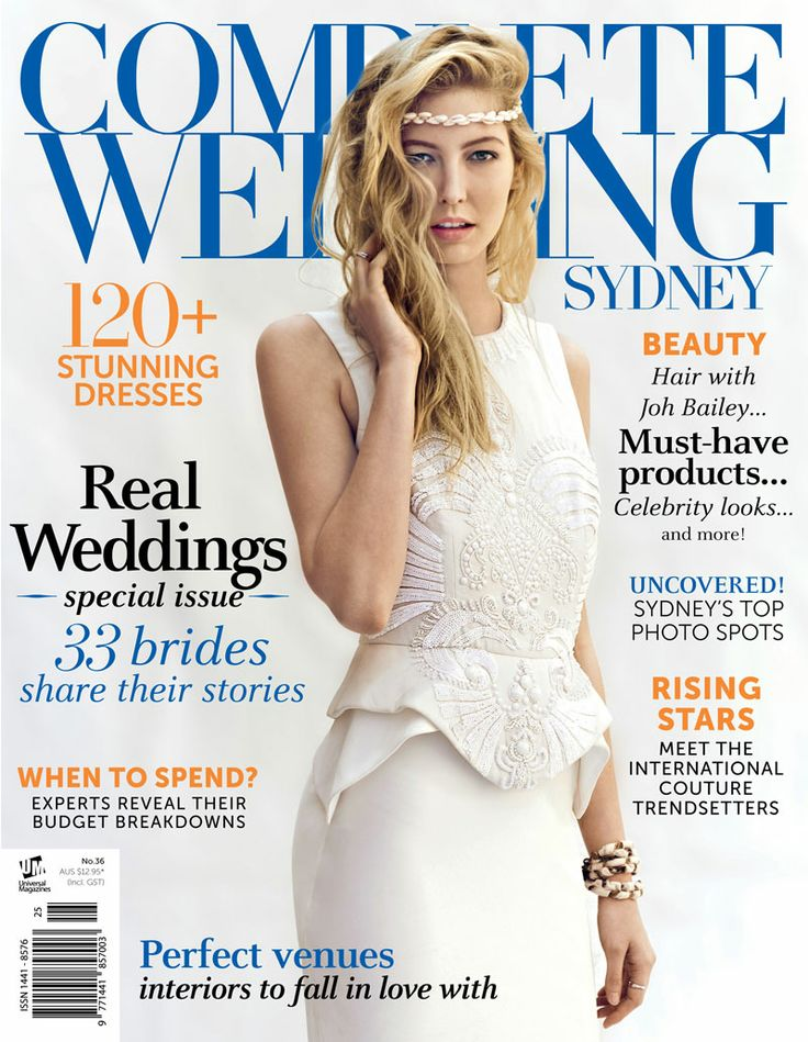 Complete Wedding Sydney magazine issue 36, out December 2014