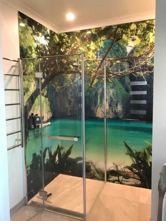 Our Custom Printed Acrylic Splashbacks Wall Will Transofrm Ordinary Spaces Into Extraordinary With Acrylic Shower Walls Shower Remodel Bathroom Wall Panels