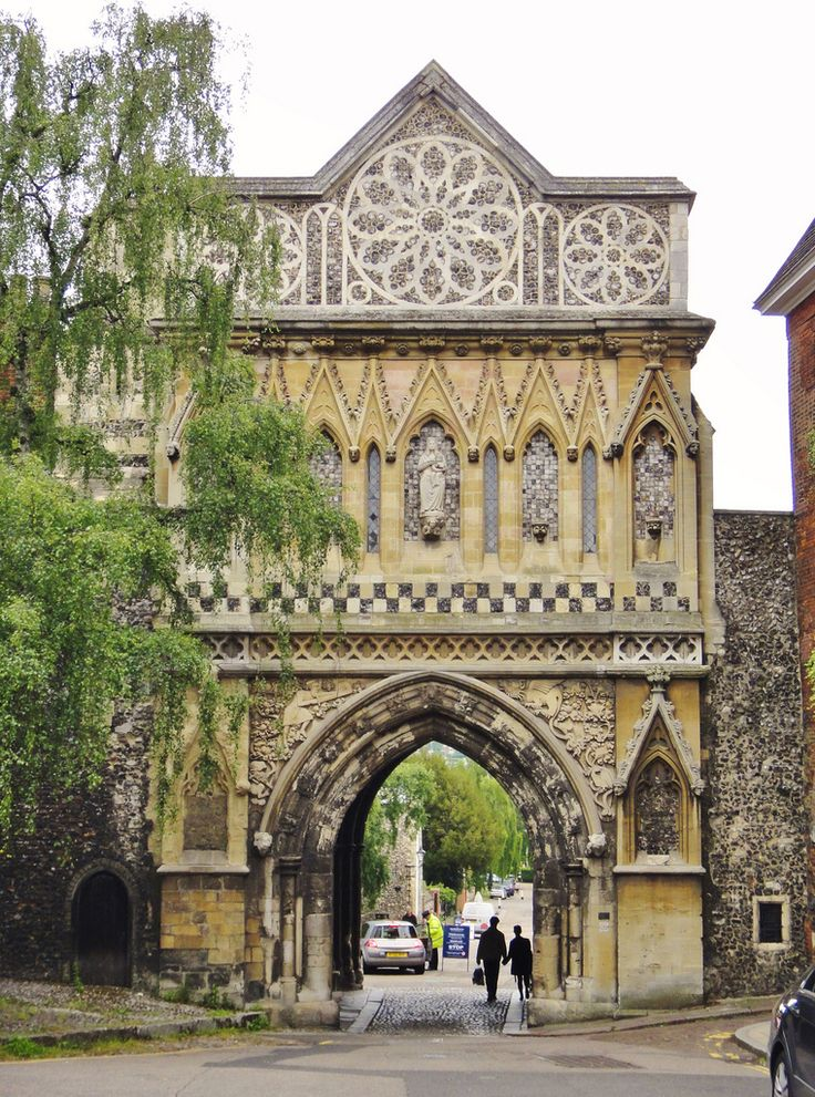 The Gatehouse of Norwich Cathedral, Norwich, England       posted by www.futons-direct.co.uk