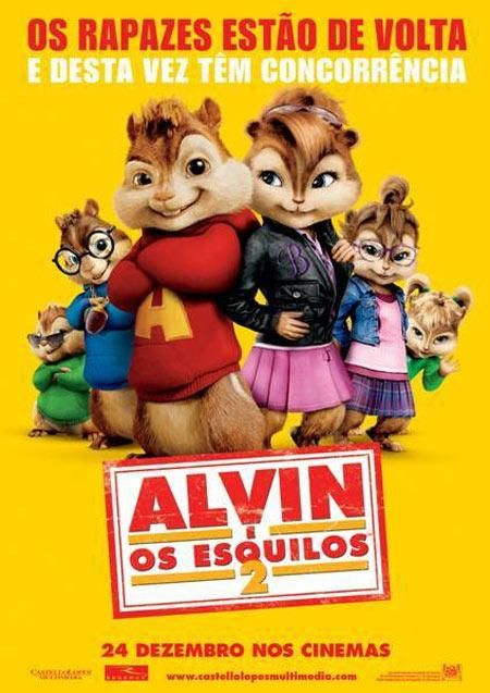 """Alvin e os Esquilos 2"" (Alvin and the Chipmunks II - 2010)"
