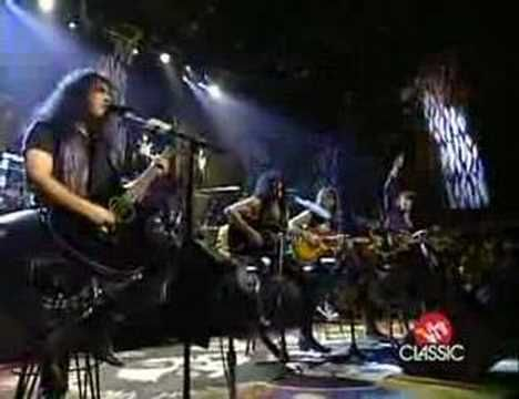kiss rock and roll all night unplugged hd - YouTube