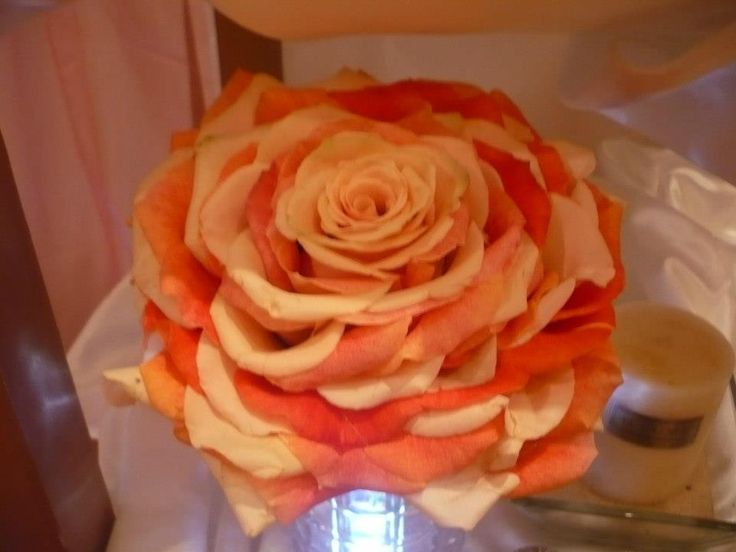 Rose Wedding Bouquet made by Kent Florist Mikiko Inoue