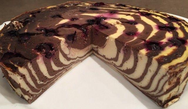 Výborný fitness dort BEZ cukru a mouky, udělaný za 20 minut!
