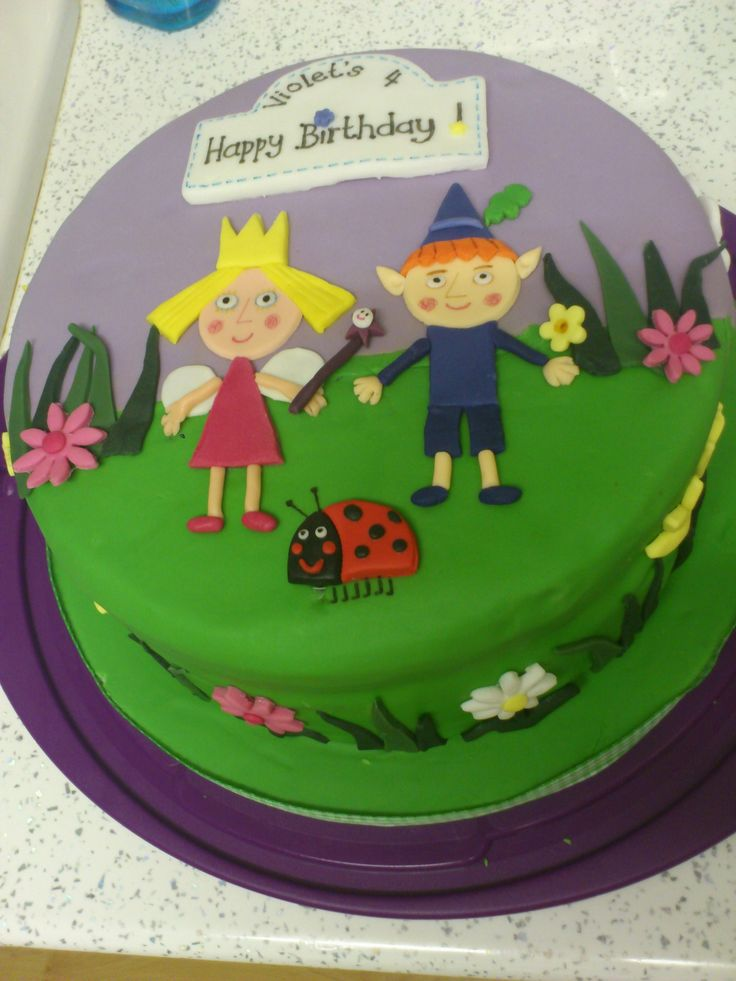 1000+ images about Ben & Holly cakes on Pinterest ...