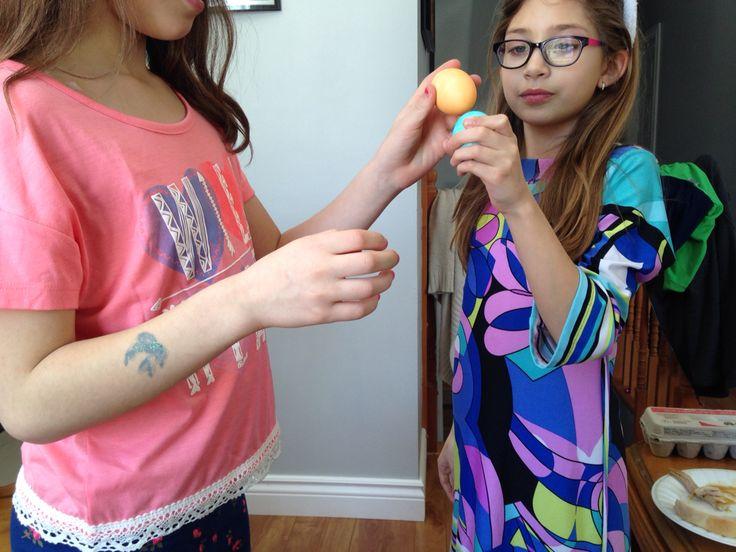 Fun egg game