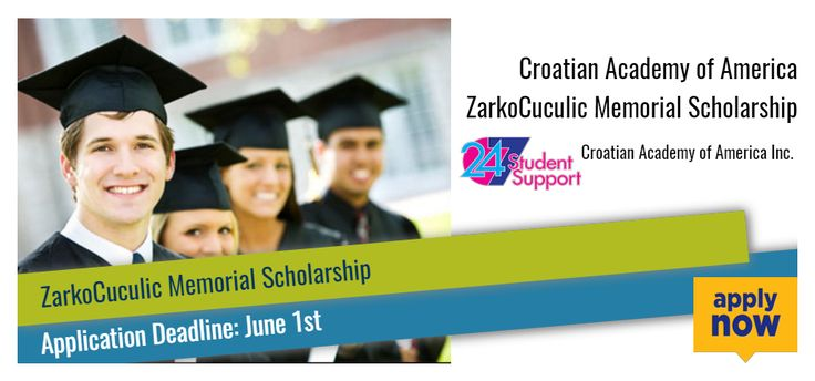 Croatian Academy of America ZarkoCuculic Memorial Scholarship