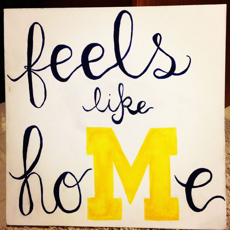 Go Blue. Michigan. Feels like hoMe. UMich. Maize. Blue. Love my school. College…