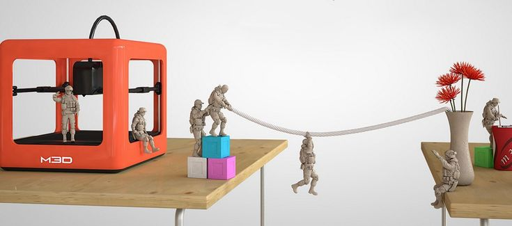 The Micro 3D Printer: Order it now on Kickstarter. Coolest gift ever.