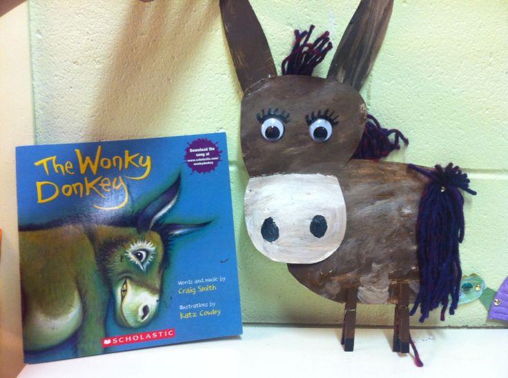 The Wonky Donkey Storytime Craft