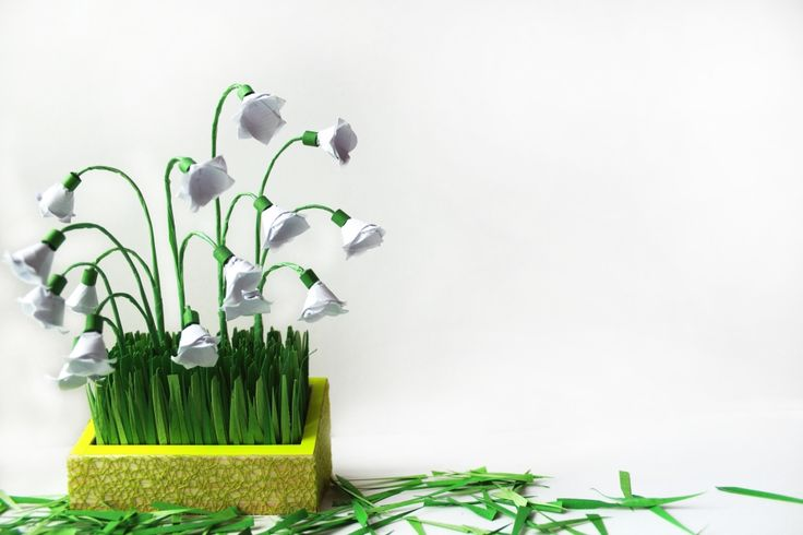 Origami Lilly of the Valley