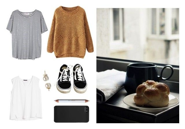 #51 - Early morning by eight2 on Polyvore featuring polyvore, fashion, style, Organic by John Patrick, Violeta by Mango, Vans, Incase and shu uemura