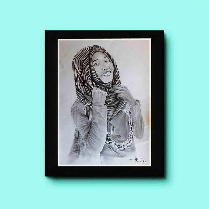 Tanks orderanx mbak fitri smg brkesan #kadoterindah_utk_orang_tercinta  #sketsa #unik #gambar #souvenir #sketsawajah #drawing #art #seni #realisme #paint #frame #souvenirpernikahan #kado #kadoanniversary #kadopernikahan #kadopacar #kadolucu #hijab #pajanganunik #potret #hadiahpernikahan #hadiahulangtahun #romance #jasasketsa #sketsamurah #instagram #sumenep #surabayaolshop by souvenir_surabaya