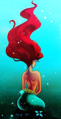 Mermaid fake nudes princess Little