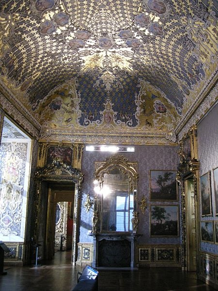 the Baroque - Palazzo Madama in Turin, Italy  (torino)  rooms belonging to the second Madama Reale