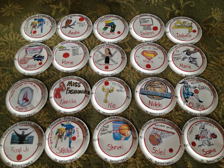 basketball-but could be adaptable & 14 best Paper plates images on Pinterest   Paper plates Paper plate ...