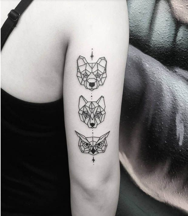 Do you love Cara Delvingne's amazing ink? Then why not go out and get an awesome animal tattoo of your own? See some great animal tattoos here.