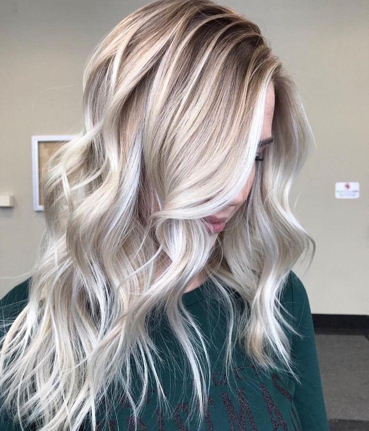 Blond balayage