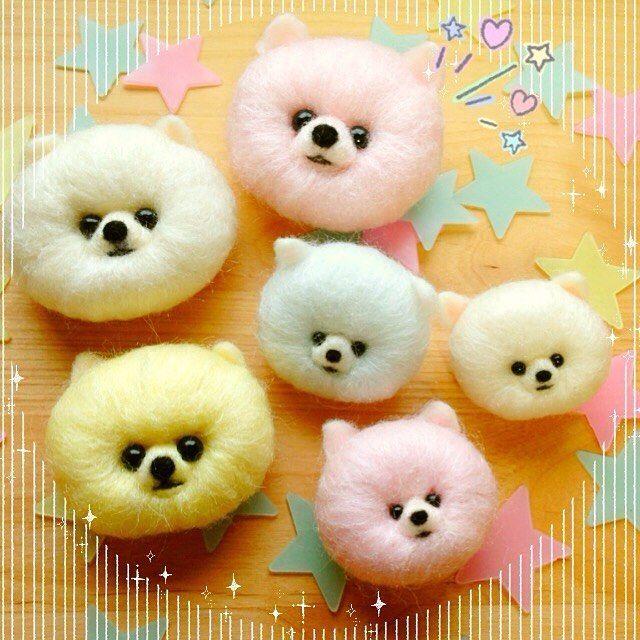 Needle felting wool dogs. Supplies: Hobium.com Yün keçe ile çocuklarınıza eğlenceli tasarımlar yapabilirsiniz. Malzemeleri Hobium.com'da bulabilirsiniz.