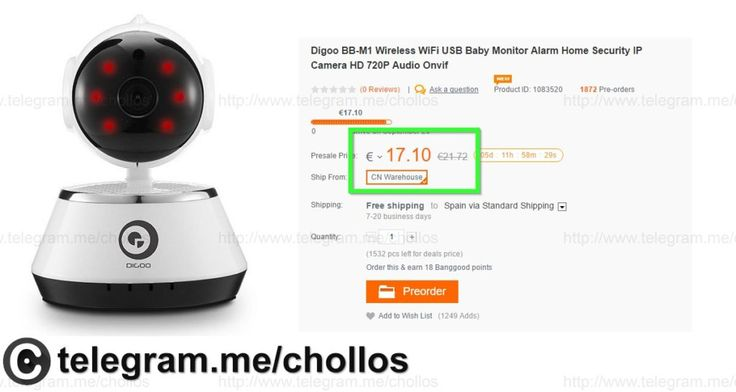 Cámara vigilancia Wifi IP 720p sólo 17 - http://ift.tt/2cp69TA