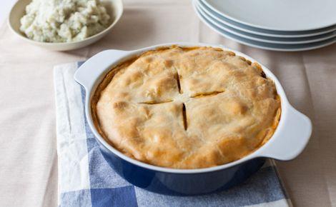Savoury Chicken Pot Pie