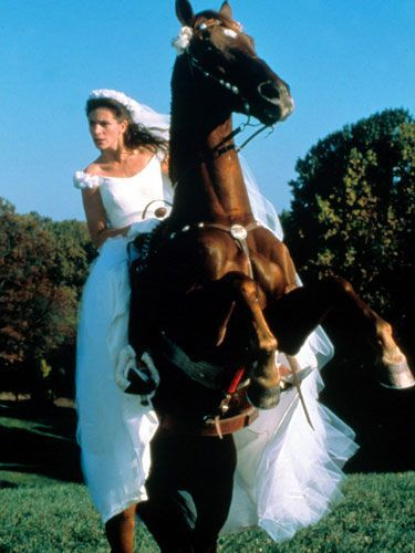 Noiva em fuga, filme Runauay Bride, Figurino, vestido de noiva terceiro casamento, Julia Roberts costume bride