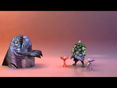 Cyclops boss. Game animations. - YouTube