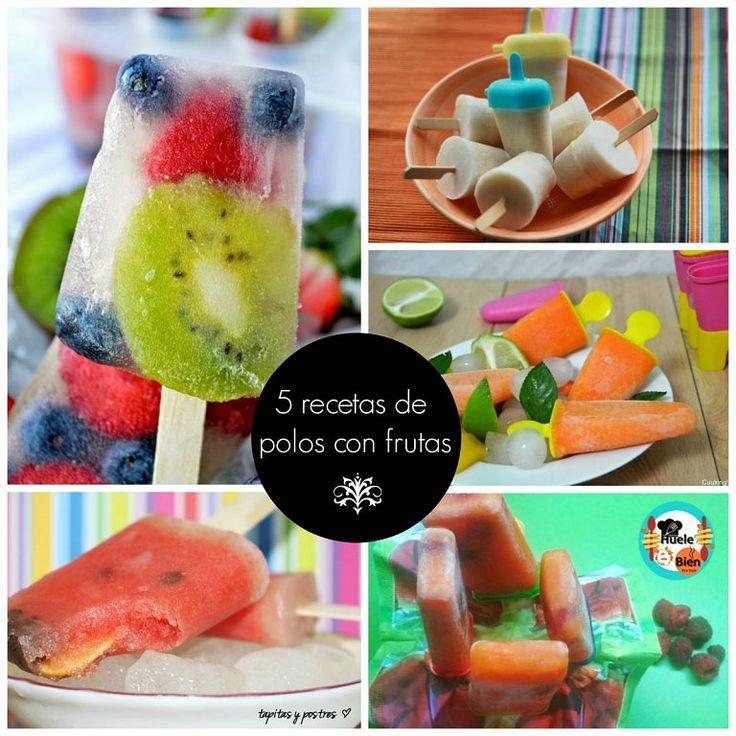 5 recetas de polos helados con mucha fruta   Cocinar en casa es facilisimo.com