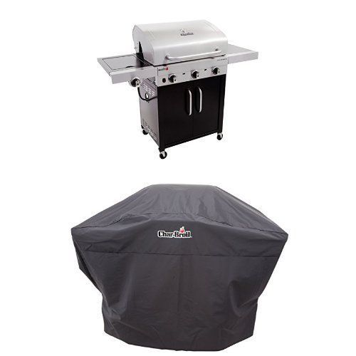 Char-Broil Performance TRU Infrared 450 3-Burner Cabinet Gas Grill   Cover ** You can get additional details at the image link.
