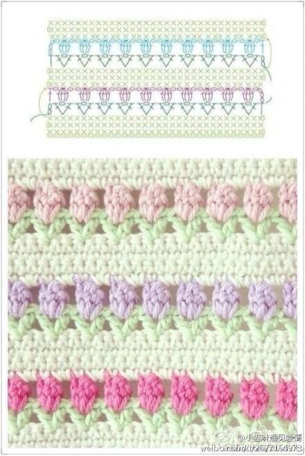 🌹🌹 Colcha em Crochê Flores, Gráfico,Ponto e muita inspiração para você.  /  🌹🌹 Bedspread Crochet Flowers, Graphic, Point and a lot of inspiration for you.