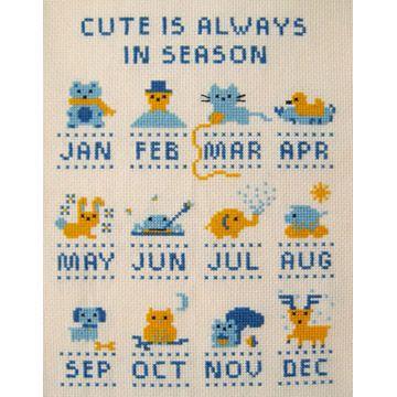 Cute is Always in Season Cross Stitch Pattern